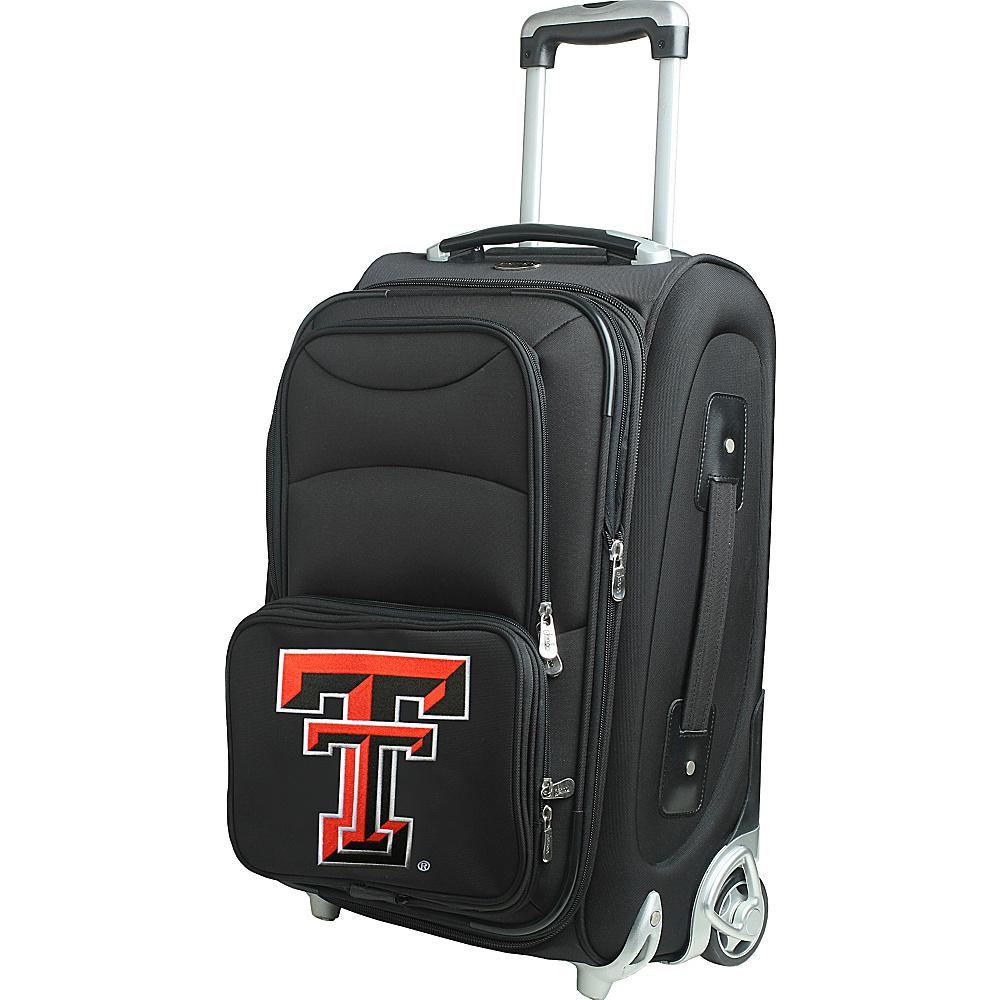 Denco Sports Luggage NCAA 21 Wheeled Upright Texas Tech University Red Raiders - Denco Sports Luggage Softside Carry-On - Luggage, Softside Carry-On