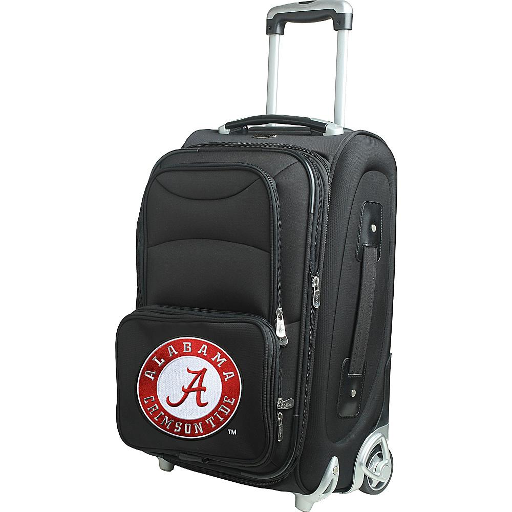 Denco Sports Luggage NCAA 21 Wheeled Upright University of Alabama Crimson Tide - Denco Sports Luggage Softside Carry-On - Luggage, Softside Carry-On