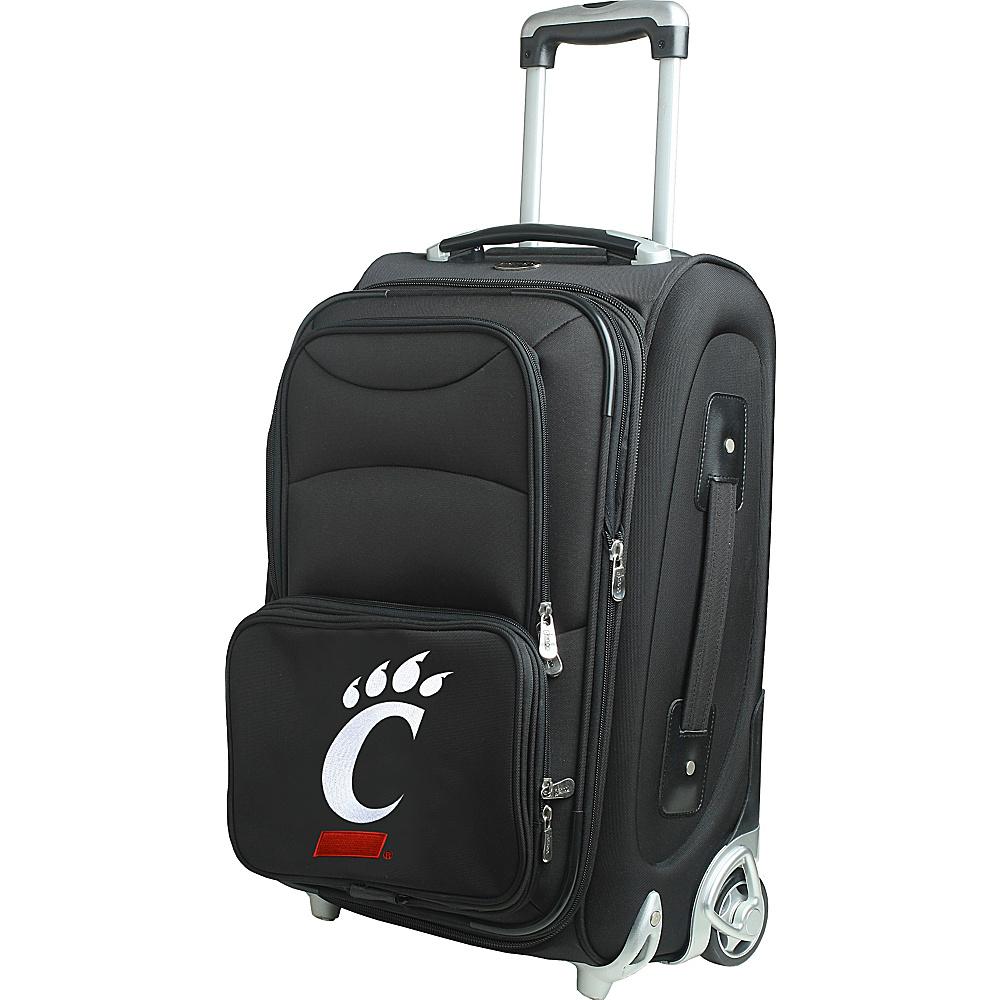 Denco Sports Luggage NCAA 21 Wheeled Upright University of Cincinnati Bearcats - Denco Sports Luggage Softside Carry-On - Luggage, Softside Carry-On