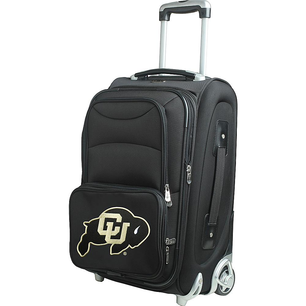 Denco Sports Luggage NCAA 21 Wheeled Upright University of Colorado Boulder Buffaloes - Denco Sports Luggage Softside Carry-On - Luggage, Softside Carry-On