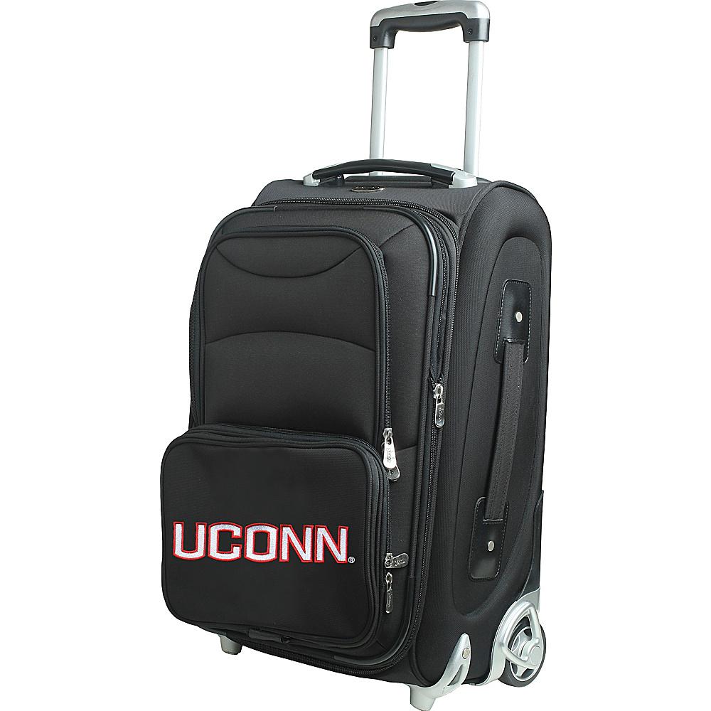 Denco Sports Luggage NCAA 21 Wheeled Upright University of Connecticut Huskies - Denco Sports Luggage Softside Carry-On - Luggage, Softside Carry-On