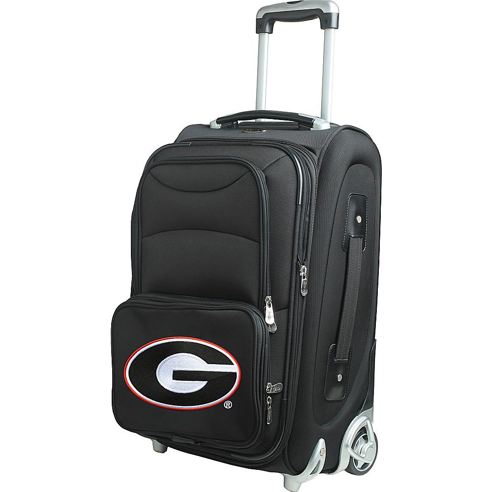 Denco Sports Luggage NCAA 21 Wheeled Upright University of Georgia Bulldogs - Denco Sports Luggage Softside Carry-On - Luggage, Softside Carry-On