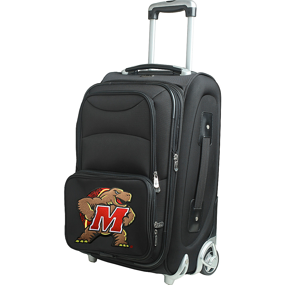 Denco Sports Luggage NCAA 21 Wheeled Upright University of Maryland, College Park Terrapins - Denco Sports Luggage Softside Carry-On - Luggage, Softside Carry-On