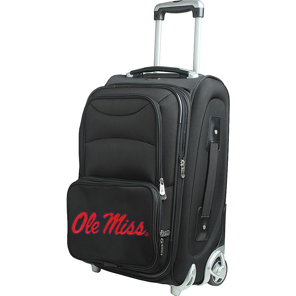 Denco Sports Luggage NCAA 21 Wheeled Upright University of Mississippi Rebels - Denco Sports Luggage Softside Carry-On - Luggage, Softside Carry-On