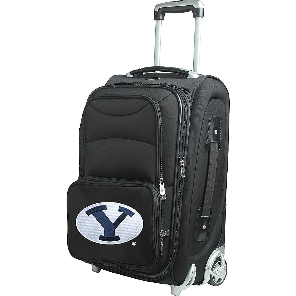 Denco Sports Luggage NCAA 21 Wheeled Upright Brigham Young University Cougars - Denco Sports Luggage Softside Carry-On - Luggage, Softside Carry-On