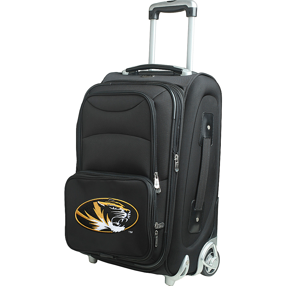 Denco Sports Luggage NCAA 21 Wheeled Upright University of Missouri Tigers - Denco Sports Luggage Softside Carry-On - Luggage, Softside Carry-On