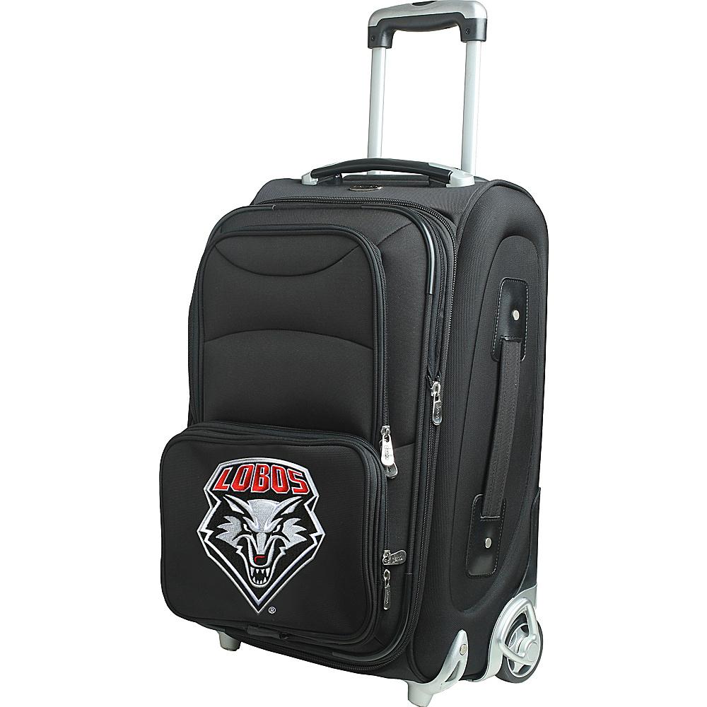 Denco Sports Luggage NCAA 21 Wheeled Upright University of New Mexico Lobos - Denco Sports Luggage Softside Carry-On - Luggage, Softside Carry-On