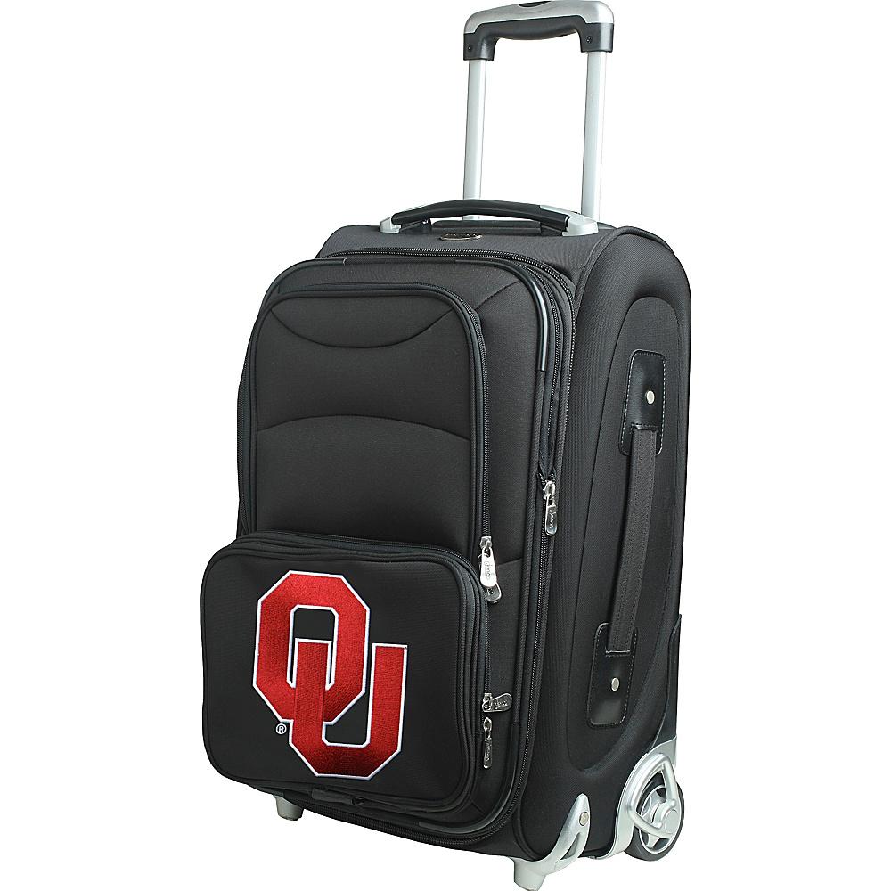 Denco Sports Luggage NCAA 21 Wheeled Upright University of Oklahoma Sooners - Denco Sports Luggage Softside Carry-On - Luggage, Softside Carry-On