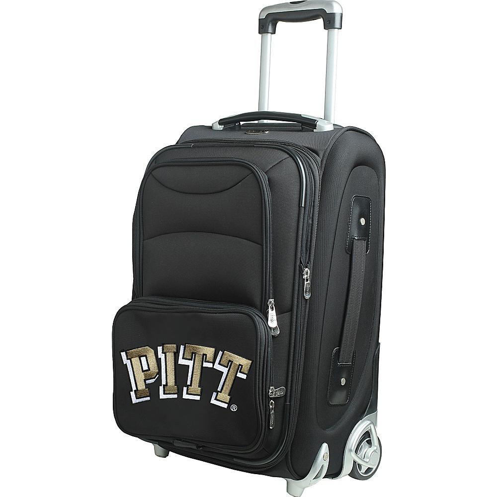 Denco Sports Luggage NCAA 21 Wheeled Upright University of Pittsburgh Panthers - Denco Sports Luggage Softside Carry-On - Luggage, Softside Carry-On