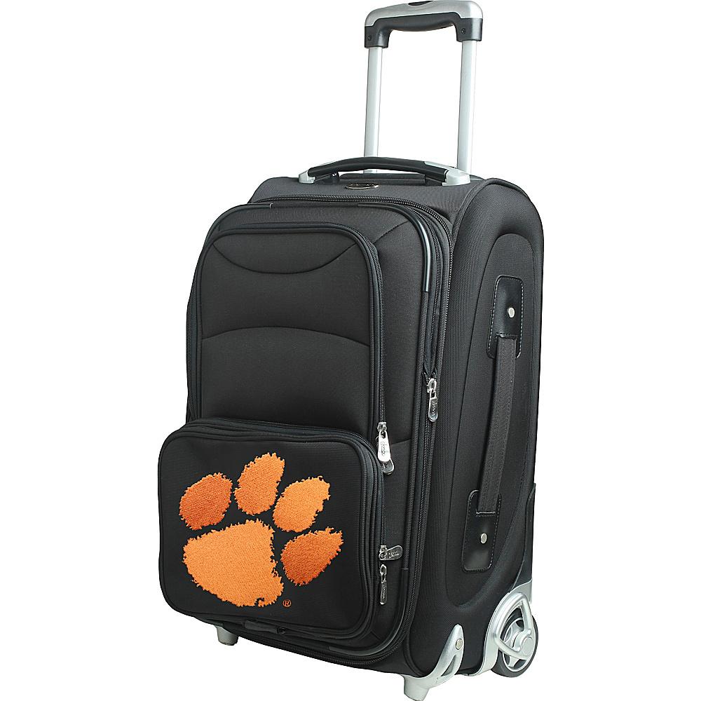 Denco Sports Luggage NCAA 21 Wheeled Upright Clemson University Tigers - Denco Sports Luggage Softside Carry-On - Luggage, Softside Carry-On