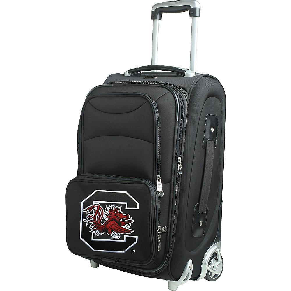 Denco Sports Luggage NCAA 21 Wheeled Upright University of South Carolina Gamecocks - Denco Sports Luggage Softside Carry-On - Luggage, Softside Carry-On