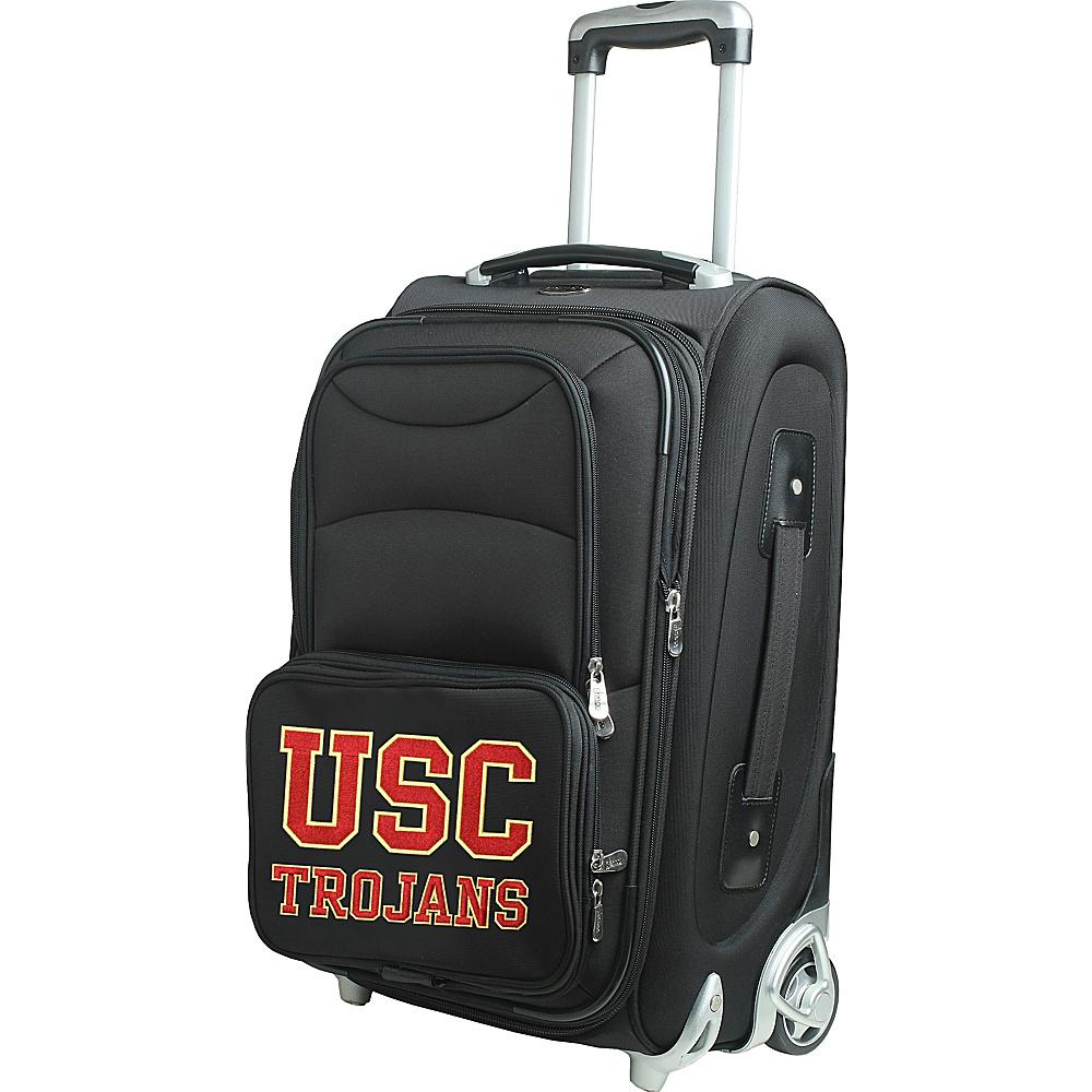 Denco Sports Luggage NCAA 21 Wheeled Upright University of Southern California Trojans - Denco Sports Luggage Softside Carry-On - Luggage, Softside Carry-On