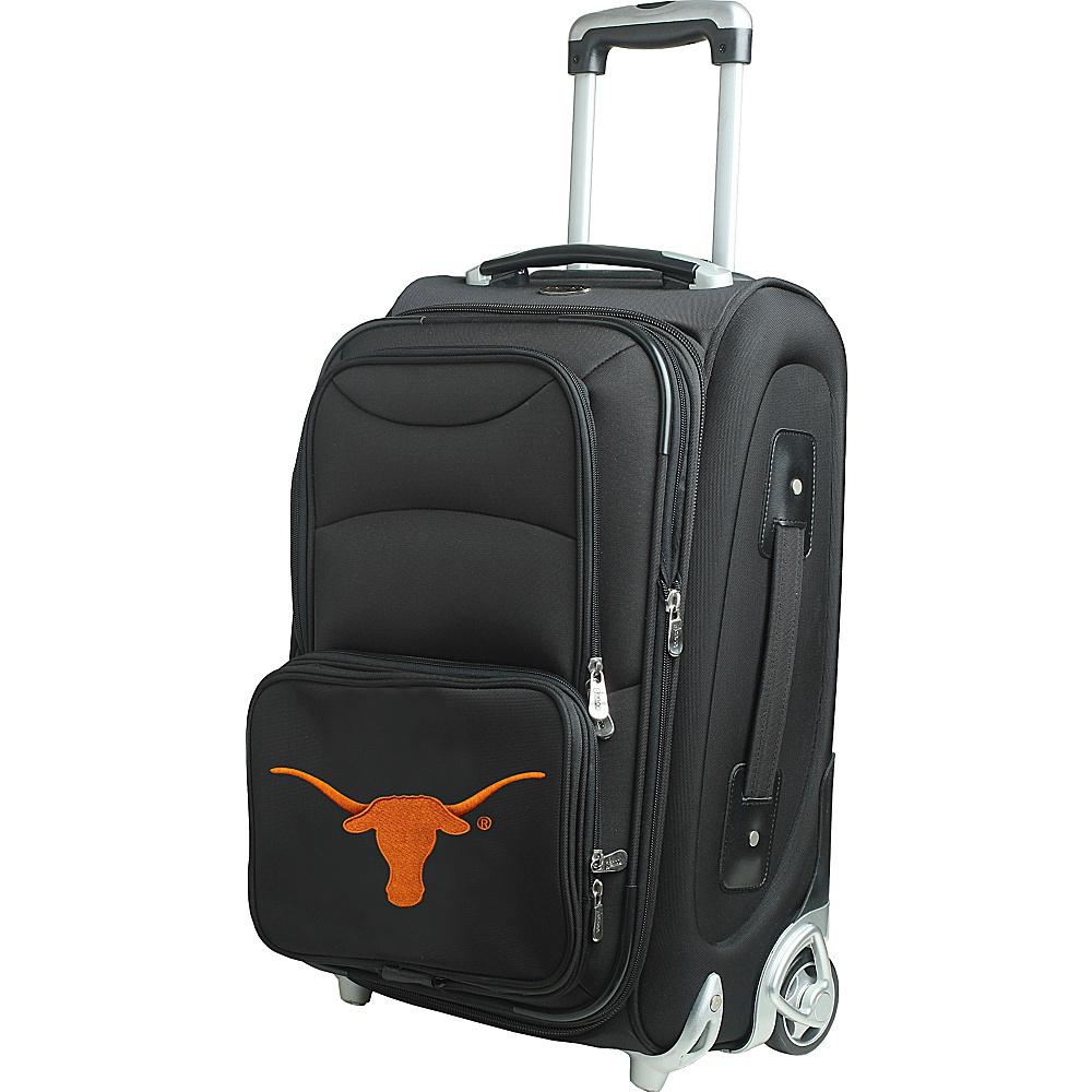 Denco Sports Luggage NCAA 21 Wheeled Upright University of Texas at Austin Longhorns - Denco Sports Luggage Softside Carry-On - Luggage, Softside Carry-On