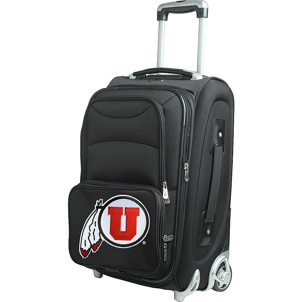 Denco Sports Luggage NCAA 21 Wheeled Upright University of Utah Utes - Denco Sports Luggage Softside Carry-On - Luggage, Softside Carry-On