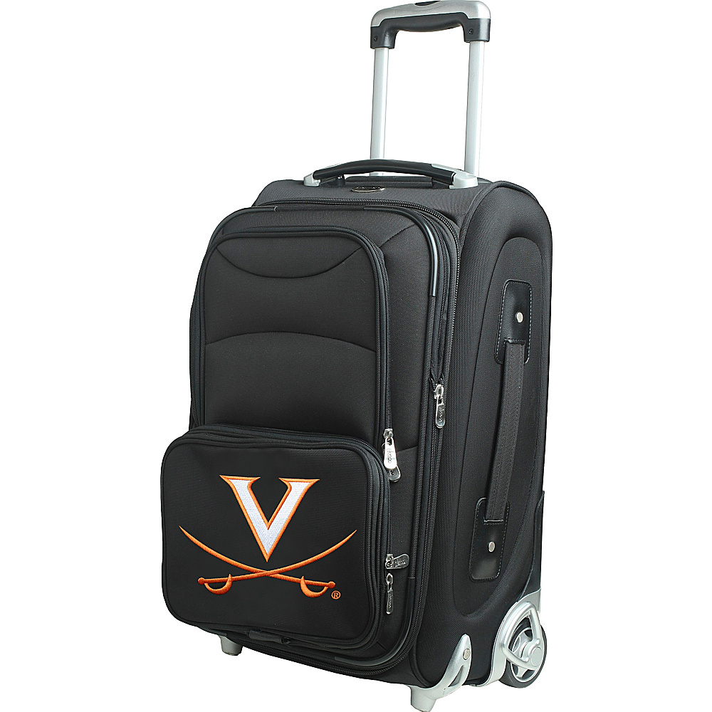Denco Sports Luggage NCAA 21 Wheeled Upright University of Virginia Cavaliers - Denco Sports Luggage Softside Carry-On - Luggage, Softside Carry-On