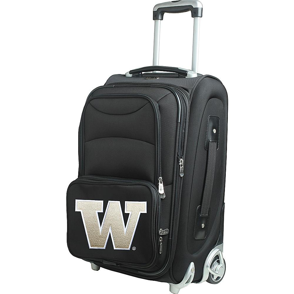 Denco Sports Luggage NCAA 21 Wheeled Upright University of Washington Huskies - Denco Sports Luggage Softside Carry-On - Luggage, Softside Carry-On