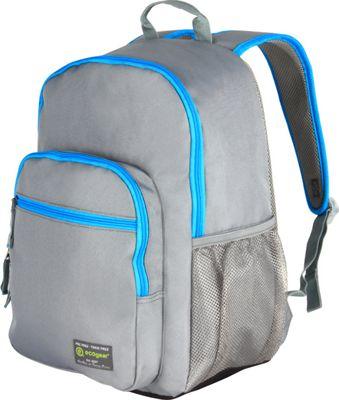 ecogear Dhole Laptop Backpack Grey/Blue - ecogear Business & Laptop Backpacks