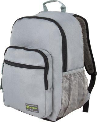 ecogear Dhole Laptop Backpack Grey/Black - ecogear Business & Laptop Backpacks