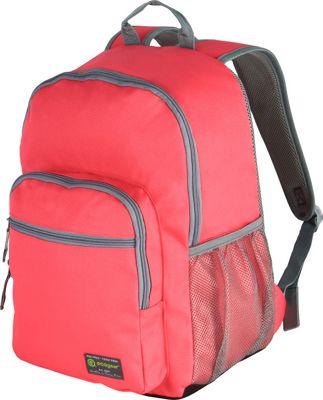 ecogear Dhole Laptop Backpack Pink/Grey - ecogear Business & Laptop Backpacks