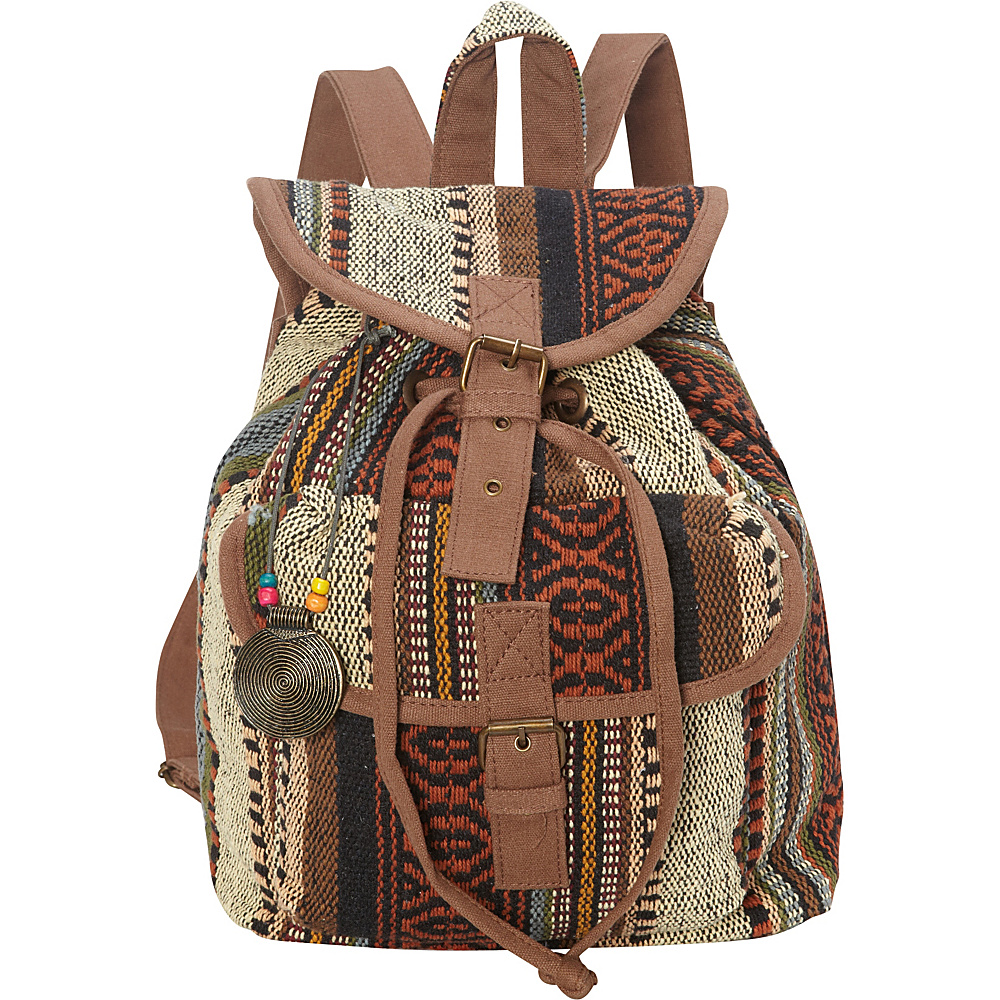 Sun N Sand Sandsation Backpack Brown - Sun N Sand Leather Handbags - Handbags, Leather Handbags