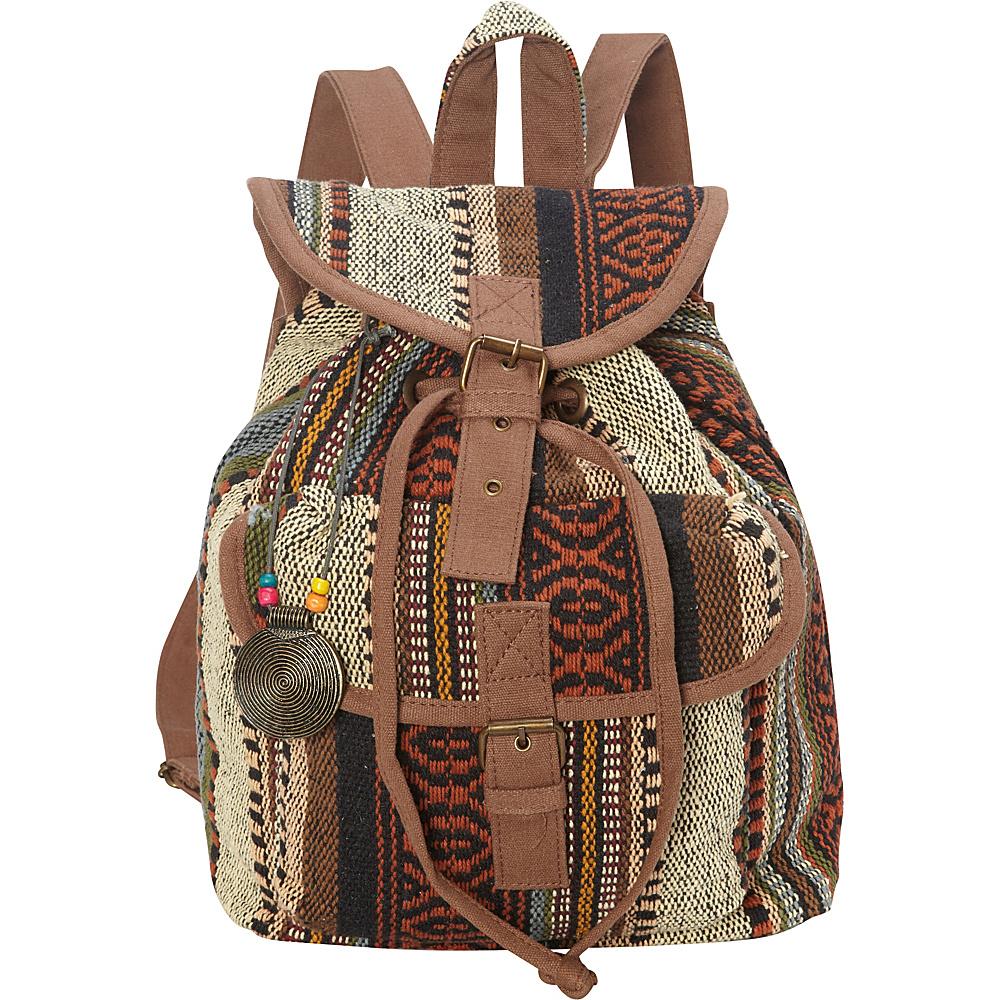Sun N Sand Sandsation Backpack Brown - Sun N Sand Leather Handbags - Handbags, Leather Handbags