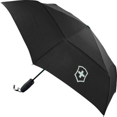 Victorinox Lifestyle Accessories 4.0 Automatic Umbrella Black - Victorinox Umbrellas and Rain Gear