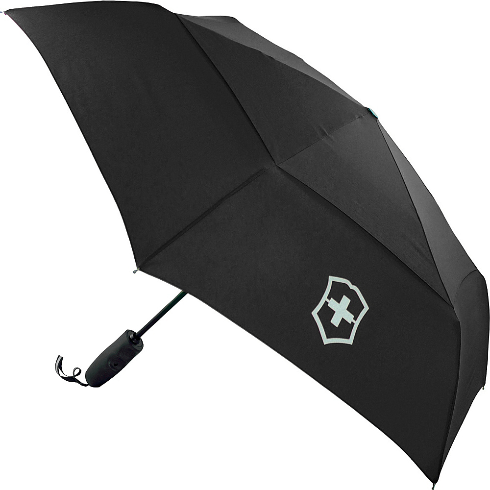 Victorinox Lifestyle Accessories 4.0 Automatic Umbrella Black Victorinox Umbrellas and Rain Gear