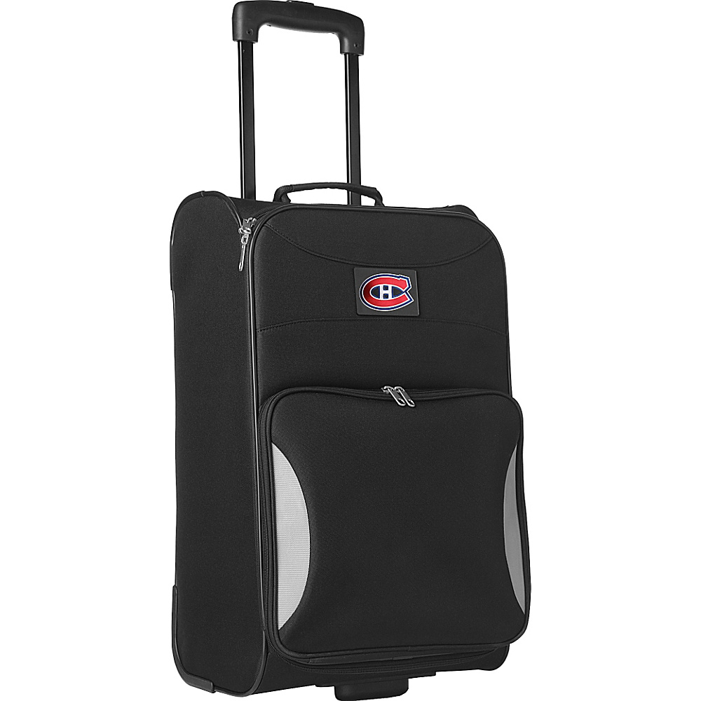 "Denco Sports Luggage NHL 21"" Steadfast Upright Carry-on Montreal Canadians - Denco Sports Luggage Softside Carry-On"