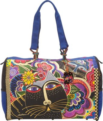 Laurel Burch Carlotta's Cats Oversized Tote Multi - Laurel Burch Fabric Handbags