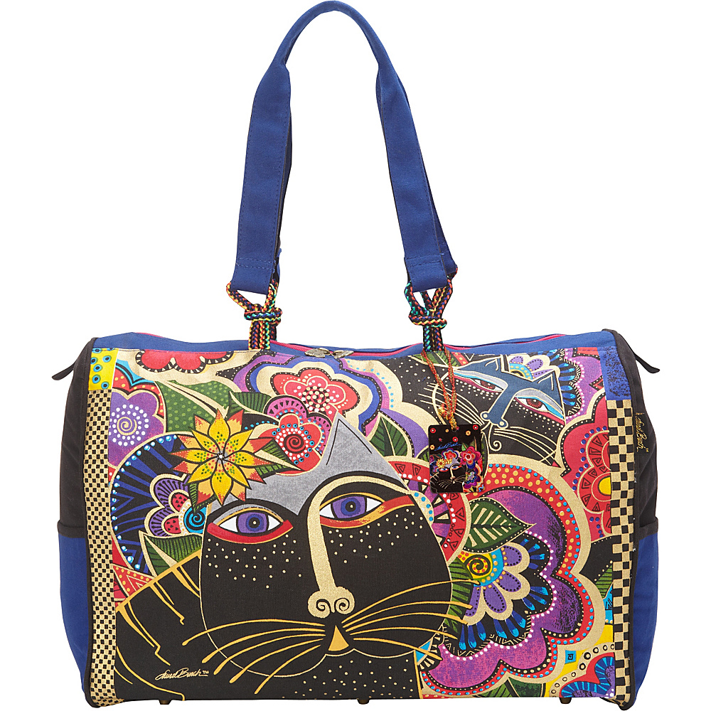 Laurel Burch Carlotta's Cats Oversized Tote Multi - Laurel Burch Fabric Handbags