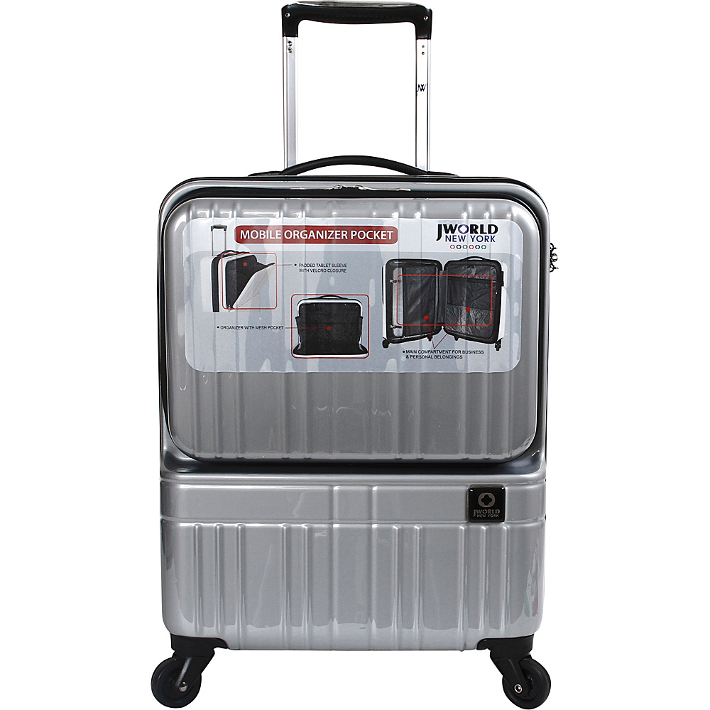 J World New York Cue Hardside Carry-On Luggage 4 Colors | eBay