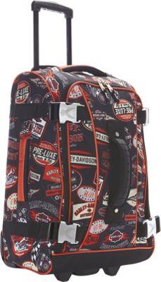 Harley Davidson by Athalon 21 inch Hybrid Luggage Vintage - Harley Davidson by Athalon Kids' Luggage