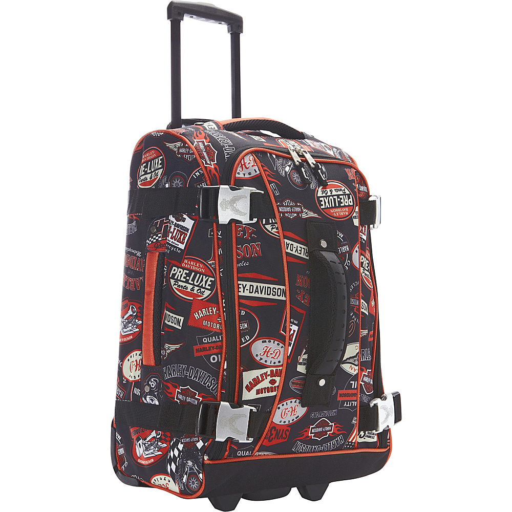 "Harley Davidson by Athalon 21"" Hybrid Luggage Vintage - Harley Davidson by Athalon Softside Carry-On"