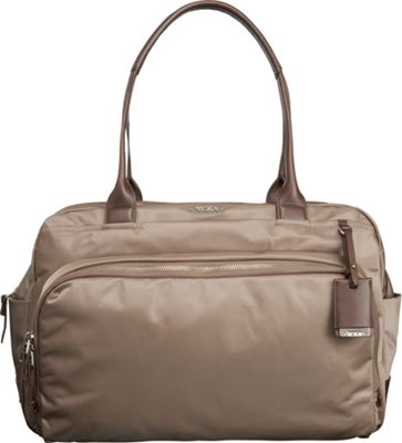 Tumi Voyageur Athens Carry-All Fossil - Tumi Fabric Handbags