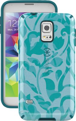Speck Samsung Galaxy S5 Candyshell Inked Case Wallflowers Blue/Atlantic Blue - Speck Electronic Cases