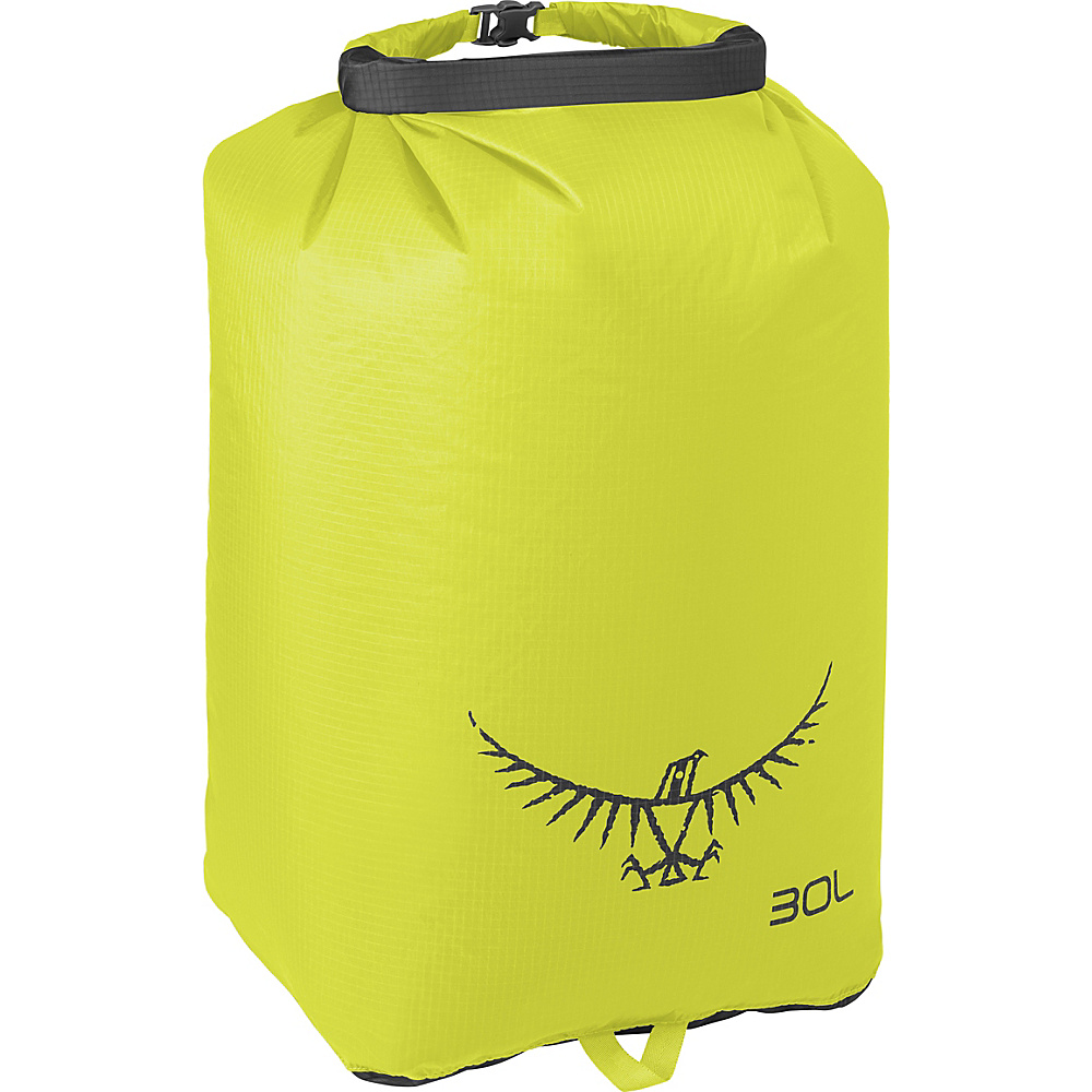 Osprey Ultralight Dry Sack Electric Lime – 30L Osprey Outdoor Accessories