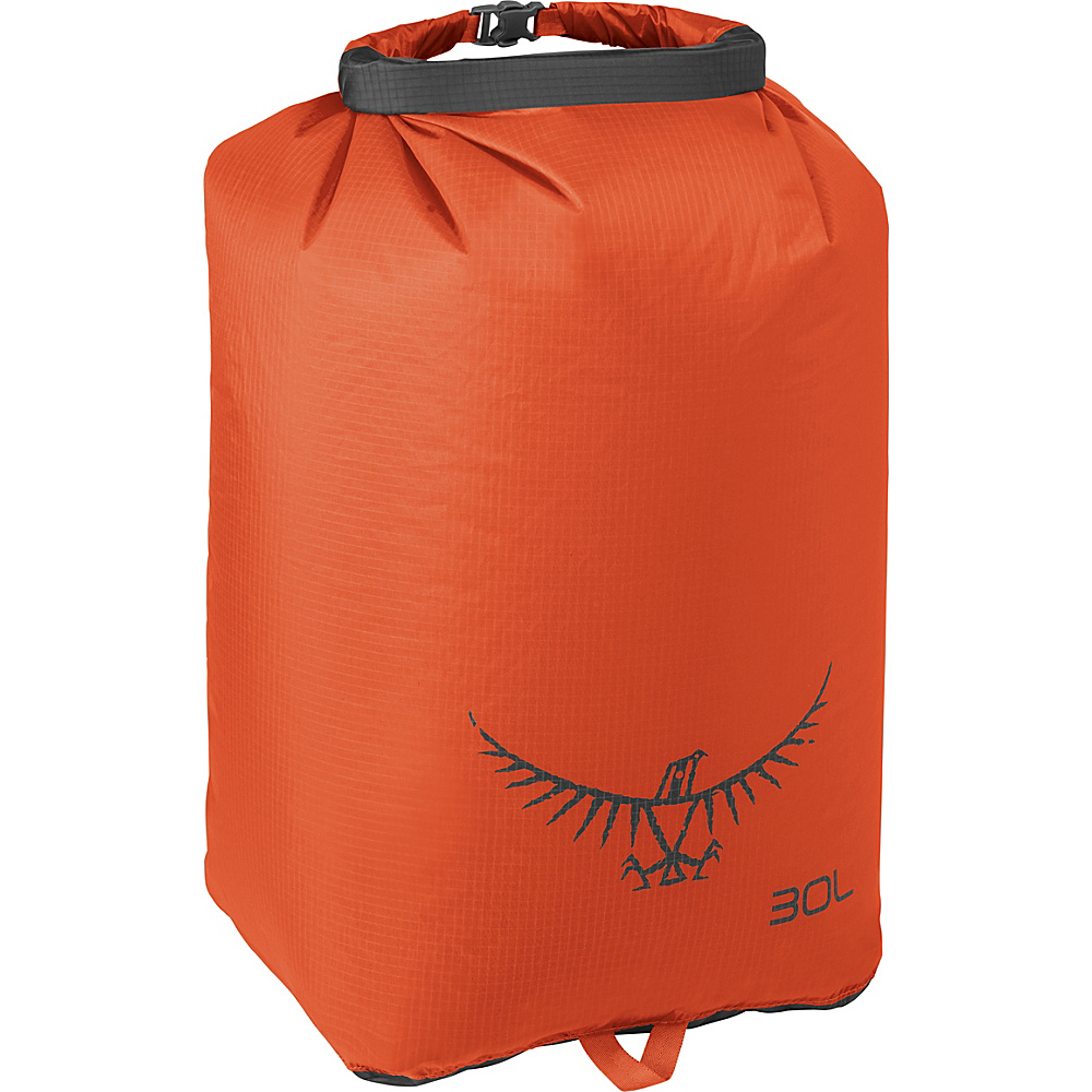 Osprey Ultralight Dry Sack Poppy Orange – 30L - Osprey Outdoor Accessories - Outdoor, Outdoor Accessories