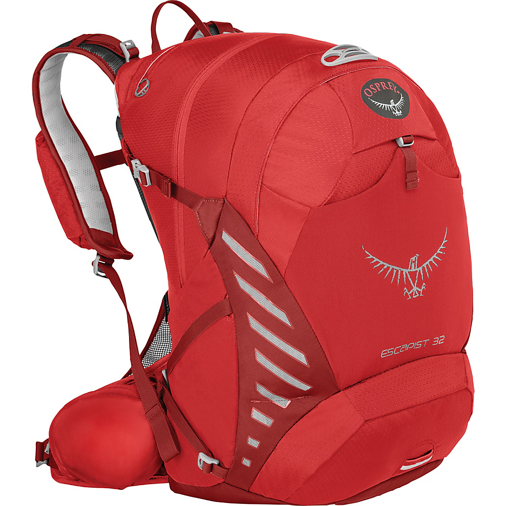 Osprey Escapist 32 Cayenne Red – S/M - Osprey Day Hiking Backpacks - Outdoor, Day Hiking Backpacks