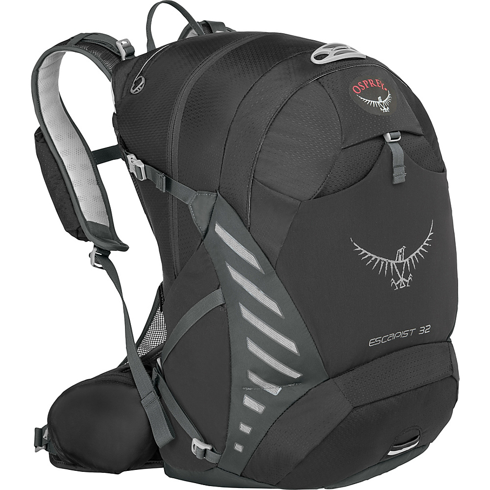 Osprey Escapist 32 Black - S/M - Osprey Day Hiking Backpacks - Outdoor, Day Hiking Backpacks