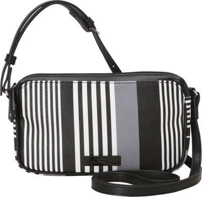 Vera Bradley Small Crossbody Midnight Stripe - Vera Bradley Fabric Handbags