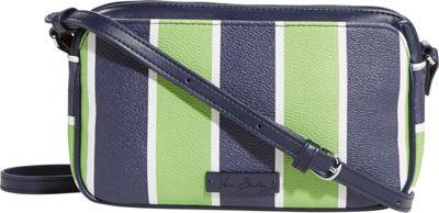 Vera Bradley Small Crossbody Lucky Stripe - Vera Bradley Fabric Handbags
