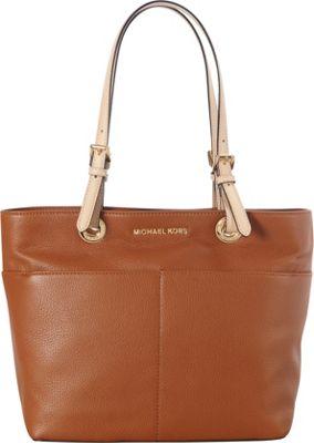 MICHAEL Michael Kors Bedford Top Zip Pocket Tote Luggage - MICHAEL Michael Kors Designer Handbags