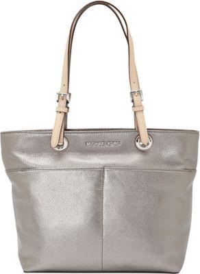MICHAEL Michael Kors Bedford Top Zip Pocket Tote Gunmetal - MICHAEL Michael Kors Designer Handbags
