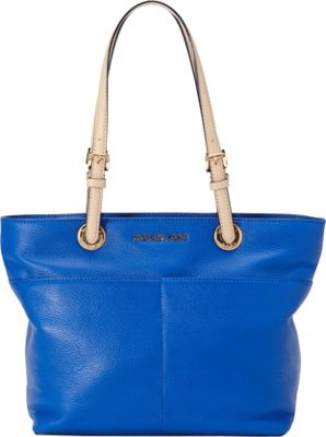 MICHAEL Michael Kors Bedford Top Zip Pocket Tote Electric Blue - MICHAEL Michael Kors Designer Handbags