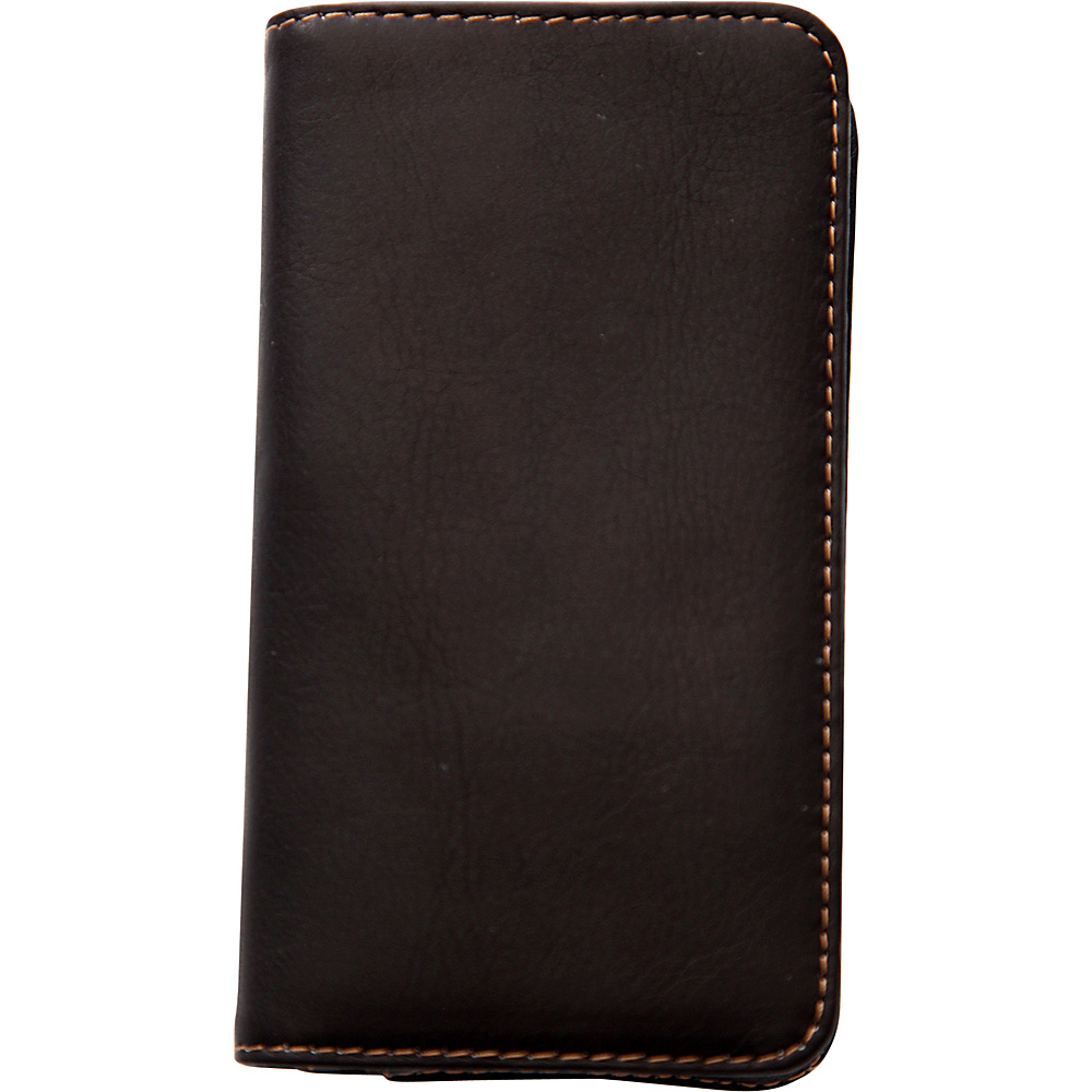 Jill e Designs Jack Leo Leather Smartphone Wallet Brown Jill e Designs Electronic Cases