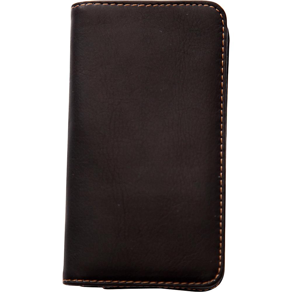 Jill e Designs Jack Leo Leather Smartphone Wallet Brown Jill e Designs Electronic Cases
