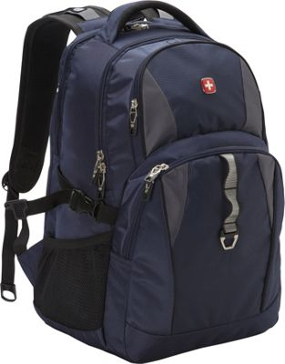 SwissGear Travel Gear 18.5 inch Laptop Backpack 6681 - EXCLUSIVE Navy / Grey / Black - SwissGear Travel Gear Business & Laptop Backpacks