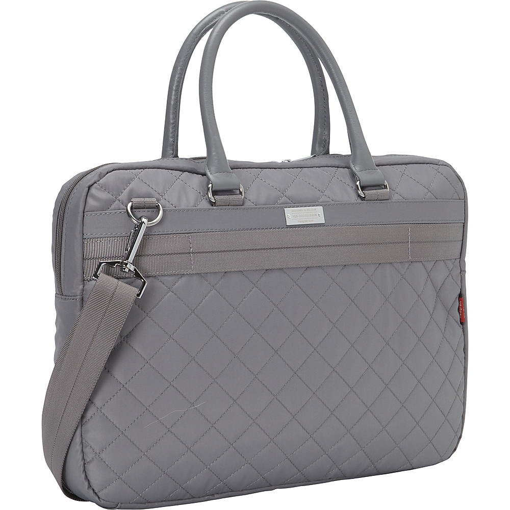 Hedgren Bella Attache Medium Mouse Grey Hedgren Non Wheeled Business Cases