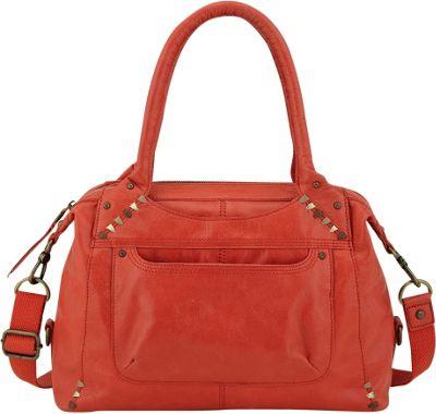The Sak Mateo Satchel Cayenne - The Sak Leather Handbags