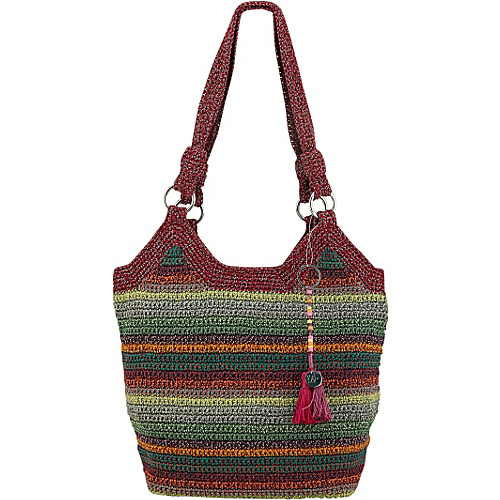 The Sak Ellis Tote Gypsy Stripe - The Sak Fabric Handbags